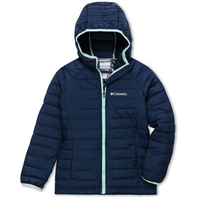 Columbia Powder Lite Hooded Jacket Girls nocturnal